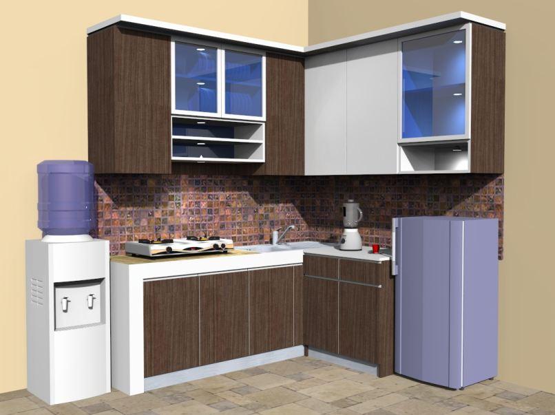 Pembuatan Kitchen set Minimalis Murah