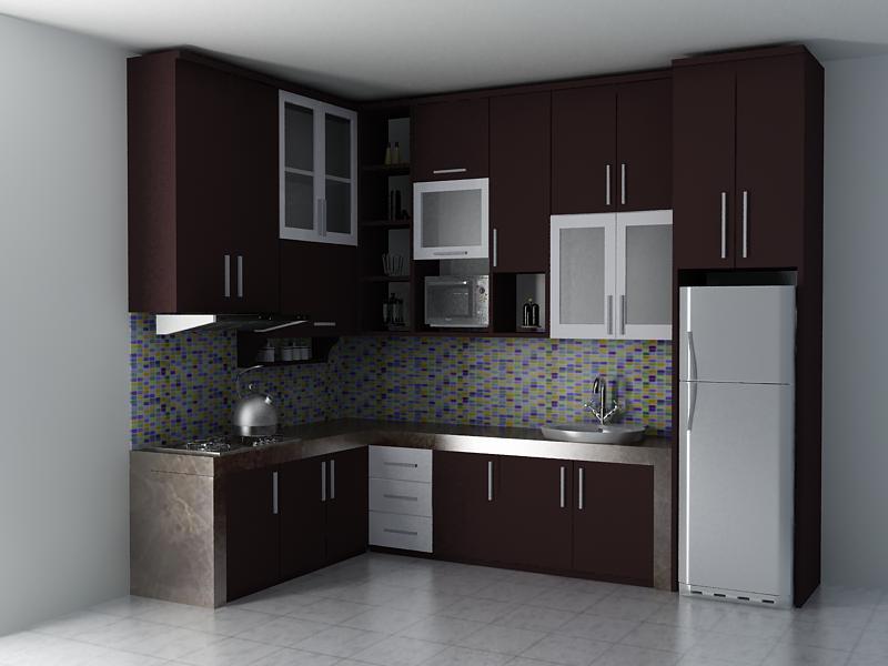 kitchen set Minimalis di ciputat