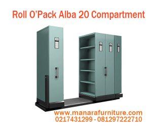 Harga Roll O'Opak Alba 20 Compartment