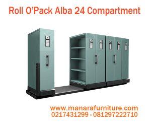 Harga Roll O'Opak Alba 24 Compartment