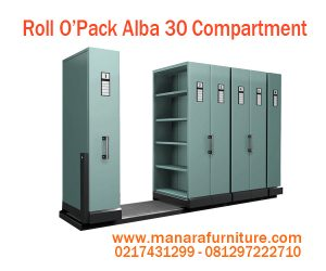 Harga Roll O'Opak Alba 30 Compartment