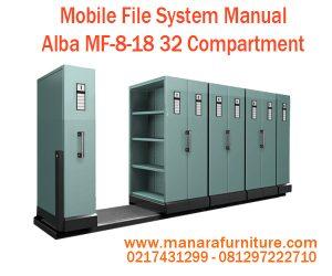 Jual Mobile File System Manual Alba MF-8-18 Harga Murah