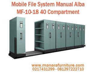 Jual Mobile file Alba MF-10-18 40 Compartment