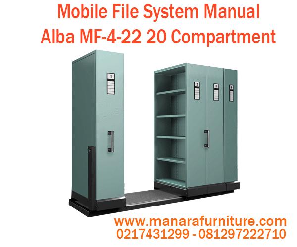 Toko jual Mobile File System Manual Alba MF-4-22 harga murah