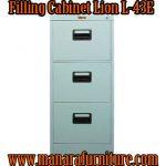 Harga filling cabinet 3 laci lion L-43E