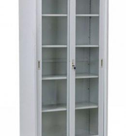 Lemari Arsip Datafile Kaca Pintu Geser - Standard E