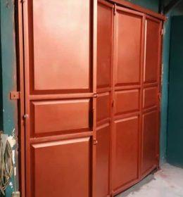 jasa pemasangan pintu garasi besi minimalis