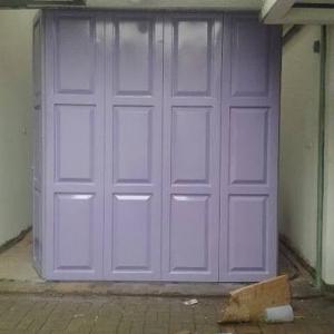 jasa pembuatan pintu garasi besi