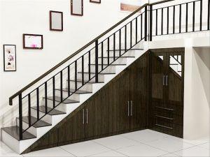 pemnuatan railing tangga